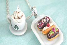 Mini mad / Det er mad der er lille og det kan også bruges til dukke mad.