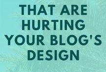 Branding + Design / Designing and branding your blog.