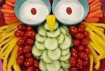 """Kunstwerke für sich - garnierte Platten / Wie sagt man so schön: """"Das Auge isst mit!"""""""