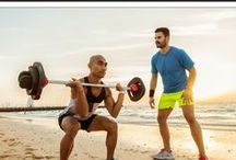 TRAINING TIPS FOR MEN / Fitness and training tips for men. Including exercise ideas, healthy recipes and eating plans, and workout routines.