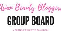 KBeauty and Asian Skincare Bloggers Group Board / Feel free to share your favorite Asian Beauty blog posts here!  To be added: Follow me on Pinterest and DM me on twitter (@lipstickpiggie) or instagram (@lipstickonapiggie) or email lipstickonapiggie@gmail.com.  RULES: Limit 3 posts daily. Inappropriate posts and those not related to Asian beauty products will be removed.