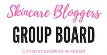 "Skincare Bloggers Group Board / Welcome skincare beauty bloggers! Feel free to share your favorite skincare blog posts here! To be added: Follow me on Pinterest and DM me your Pinterest name or email to lipstickonapiggie@gmail.com. You can also comment on the ""Skincare Bloggers Group Board"" pin. RULES: Limit 3 posts daily. Inappropriate posts and those not related to skin care and skincare products will be removed."