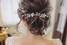 ♡ Bride hair style