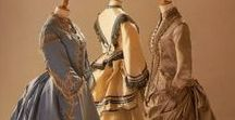 Victorian Era Fashion / Fashions from the 1800s. Elegant and exquisite. Detailed and Delicate.