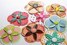 embellishment inspiration / scrapbook and craft inspiration for creating your own embellishments
