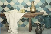 la maison ♥ bathroom / clean, simple and natural, inspired by oriental baths