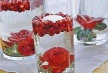 Red Winter Wedding Ideas