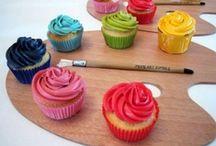 Art & Rainbow Party Ideas