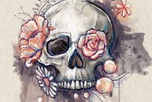 Love // Skulls / For my love of skulls, on anything and everything. :) / by Josee Charbonneau