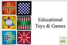 Educational Toys and Games /    / by Schoolhouse Review Crew
