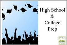 High School and College Prep / resources for homeschooling high school / by Schoolhouse Review Crew
