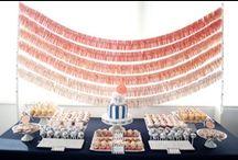 Dessert Table, Buffet & Party Bar Ideas