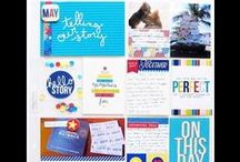 Project Life Inspiration / Tips and inspiration for creating Project Life and pocket pages