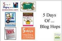 *5 Days of Blogging Blog Hop / by Schoolhouse Review Crew