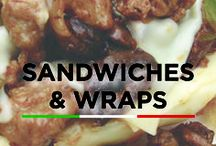 Sandwiches and Wraps / Sandwiches and wrap recipes perfect for lunch or dinner!