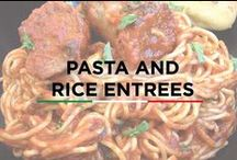 Pasta & Rice Entrees