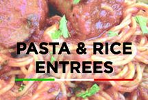 Pasta & Rice Entrees / Pasta recipes for pasta lovers!