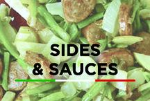 Sides & Sauces / Add a little something extra to your plate with these sauces & sides recipes!