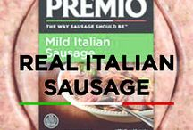 Real Italian Sausage / Sweet or spicy, mild or hot, links or patties. There are so many ways to serve Premio Italian sausage! No matter how you choose to use our real Italian sausage, you get a hearty meat that adds great flavor to any meal. Gluten free. No MSG.
