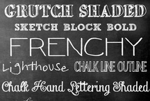 Signs Frames Pictures Chalkboards / by Holly Dearmon
