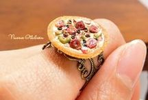 My miniature work / Miniature clay food crafted by Nassae Ithilwen www.nassaeithilwen.com