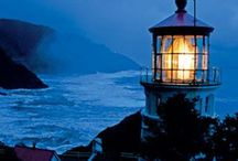 Lighthouses....How beautiful! / by Glenna Livingston