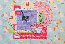 Motif-Bursts of Inspiration / inspiration for scrapbooking and crafts with the burst design