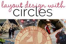 Shapes: Circle,Circle. Dot Dot / scrapbook and craft inspiration based on circle shapes