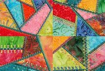 Pattern: Patchwork Pretties / scrapbook and craft inspiration featuring patchwork