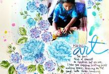 Motif-Flowers that Bloom / scrapbook and craft inspiration featuring flowers