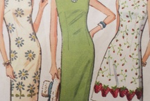 Sheath Dress / Inspiration for making a New Year's Eve dress. I've now purchased two patterns and some fab shimmery fabric. On to the sewing part!