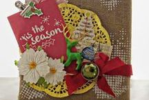 Holiday:Christmas / scrapbook and craft inspiration for a Christmas theme