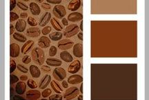 Color my World: Brown is not Boring! color palettes and color inspiration / inspiration for scrapbooking and crafts using the color brown