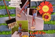 Embellishments: Fringe/ Tassels / scrapbook and craft inspiration for using embellishments like fringe and tassels