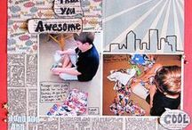 Motif: cityscapes / inspiration for scrapbooking and crafts using cityscapes
