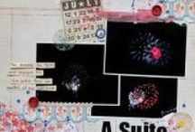 Holidays: Patriotic Celebrations / scrapbook and craft inspiration for patriotic celebrations