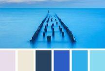 Colours - Palettes - Blue