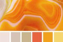 Colours - Palettes - Orange