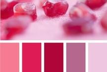 Colours - Palettes - Pink