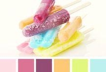 Colours - Palettes - Pastel