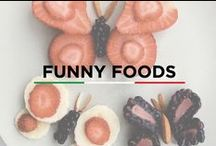 Funny Foods / Food that will make you laugh, make you smile, tempt you!