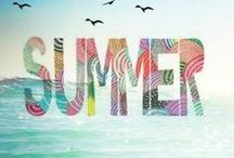 Seasons: Summer Stories / Scrapbook and craft inspiration based on the summer season