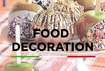 Food Decoration / Fantastic and fun food art ideas to dress your recipes up.