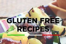 Gluten Free Recipes / Whether you're gluten free by choice or struggle with a gluten allergy, these gluten free recipes will make your taste buds happy without irritation!