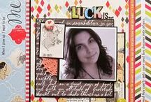 My Portfolio of Scrapbook Layouts,Art, Mixed Media and Crafts- Christy Strickler / samples of crafts, art, mixed media projects and scrapbook layouts by Christy Strickler of My Scrapbook Evolution