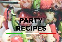Party Recipes / Whether you're the host or a guest, these party recipes will be crowd favorites!