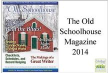*The Old Schoolhouse Magazine 2014 / Here you will find links to FREE online support articles to support and encourage you in your home school journey. These articles are free to you from the Old Schoolhouse Magazine / by Schoolhouse Review Crew