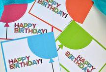 Birthday Ideas / Birthday