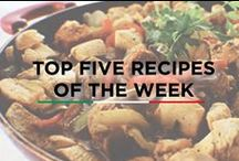 Top 5 Recipes Of The Week / Top 10 recipes - Recipes that are most voted and loved. These are the recipes that you must try if you haven't yet.