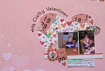 Holidays: Valentine's Day / scrapbook and craft inspiration for Valentine's Day